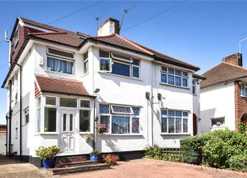 Thumbnail 4 bed semi-detached house for sale in Curzon Avenue, Stanmore, Middlesex