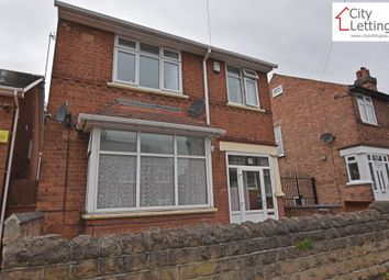 Thumbnail 4 bed detached house to rent in Russell Road, Nottingham