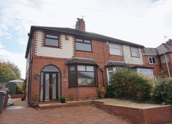 Thumbnail 3 bed semi-detached house for sale in Stross Avenue, Chell, Stoke-On-Trent