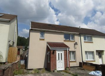 Thumbnail 3 bed semi-detached house to rent in Bryn Dolwyn, Bedwas, Caerphilly