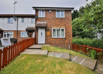 Thumbnail 3 bedroom end terrace house for sale in Kersal Way, Salford