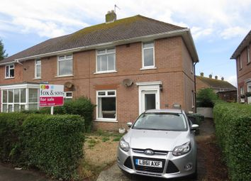 Thumbnail 2 bed semi-detached house for sale in Dumbarton Road, Weymouth