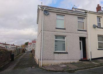 Thumbnail 2 bed end terrace house for sale in Morrell Street, Twynyrodyn, Merthyr Tydfil