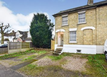 Thumbnail 2 bed end terrace house for sale in Clarence Road, Stansted