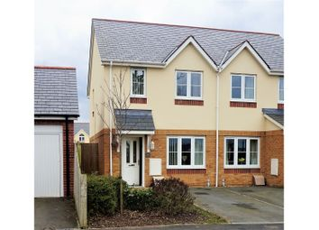 Thumbnail 2 bed semi-detached house for sale in Ger Y Nant, Y Felinheli