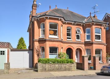 Thumbnail 4 bed semi-detached house for sale in Lansdowne Road, Aldershot