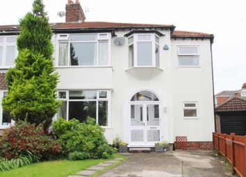 Thumbnail 5 bed semi-detached house for sale in Epping Grove, Wavertree, Liverpool