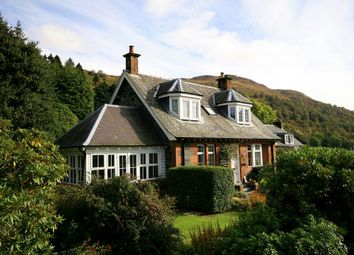 Thumbnail 4 bed detached house for sale in Station Road, St Fillans