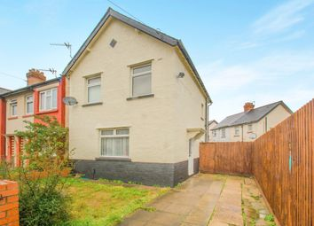 Thumbnail 3 bedroom end terrace house for sale in Camrose Road, Ely, Cardiff