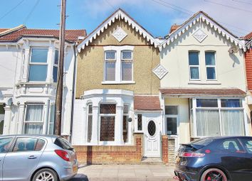 Thumbnail 3 bed terraced house for sale in Francis Avenue, Southsea