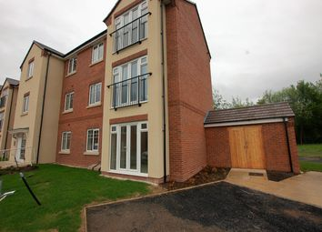 Thumbnail 2 bed flat for sale in Waterside Court, Wollaston
