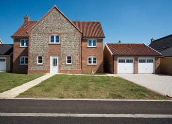 Thumbnail 4 bed detached house for sale in Plot 16, Roxbury Drive, East Harling