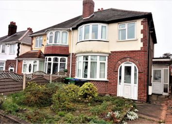 Thumbnail 3 bedroom semi-detached house for sale in Stanley Road, West Bromwich