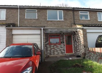 Thumbnail 3 bedroom terraced house to rent in Glebe Close, Thetford