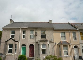 Thumbnail 1 bed flat to rent in Percy Terrace, Lipson, Plymouth