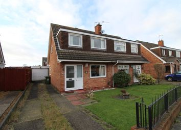 Thumbnail 3 bed semi-detached house for sale in Lunar Drive, Bootle