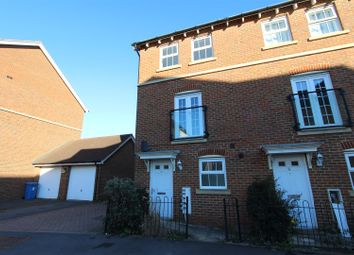 Thumbnail 3 bed end terrace house to rent in Leigh Road, Sittingbourne