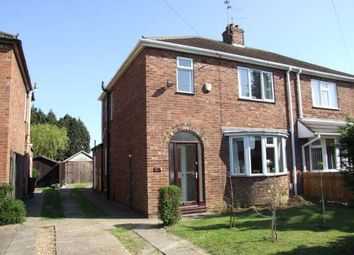 Thumbnail 3 bed semi-detached house to rent in Southfields Drive, Stanground, Peterborough
