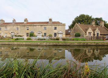 Thumbnail 1 bed end terrace house for sale in Canal Terrace, Bathampton, Bath