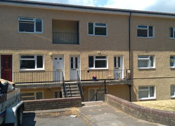 Thumbnail 2 bed flat to rent in Lynmouth Crescent, Rumney, Cardiff