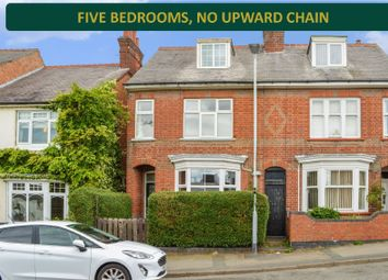 Thumbnail 5 bed end terrace house for sale in Stoughton Road, Oadby, Leicester