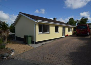Thumbnail 3 bed detached bungalow to rent in St. Michaels Close, Hayle, Cornwall
