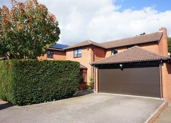 Thumbnail 4 bed detached house for sale in Alston Close, Framingham Earl, Norwich