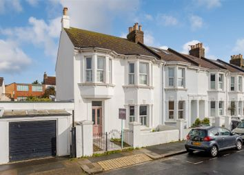 Thumbnail 4 bedroom end terrace house for sale in Coleridge Street, Hove