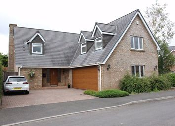Thumbnail 4 bed detached house for sale in Penllergaer, Swansea