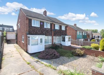 Thumbnail 3 bedroom semi-detached house for sale in Acaster Drive, Garforth, Leeds