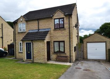 Thumbnail 2 bed semi-detached house for sale in Alanby Drive, Idle, Bradford