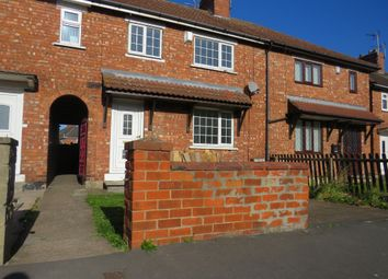 Thumbnail 3 bed terraced house for sale in Park Road, Moorends, Doncaster