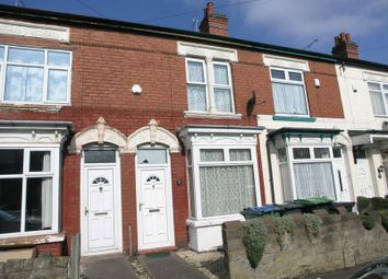 Thumbnail 2 bed terraced house to rent in Linden Road, Bearwood, Smethwick