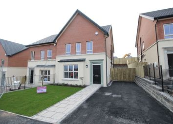 Thumbnail 3 bed semi-detached house to rent in Lynn Hall Lane, Bangor