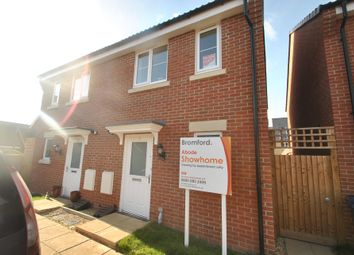 Thumbnail 2 bed semi-detached house for sale in Wendercliff Close, Bishops Cleeve, Cheltenham