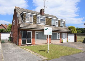 Thumbnail 3 bed semi-detached house for sale in Curlew Close, Thatcham