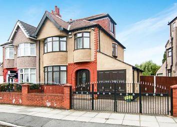 Thumbnail 4 bedroom semi-detached house for sale in Brownmoor Park, Crosby, Liverpool, Merseyside