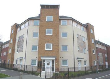 Thumbnail 2 bedroom flat to rent in Clayburn Road, Hampton Centre, Peterborough