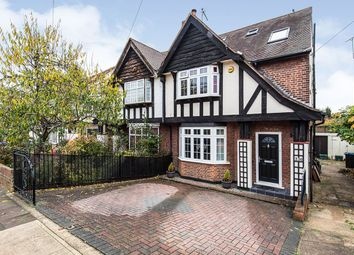 Thumbnail 4 bed semi-detached house for sale in Raeburn Avenue, Surbiton