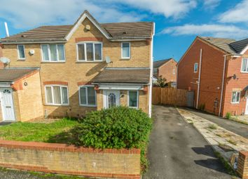 Thumbnail 3 bed semi-detached house for sale in Ashthorpe Road, Leicester