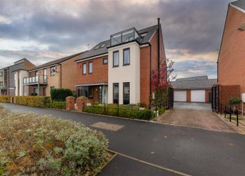 Thumbnail 5 bed detached house for sale in Elford Avenue, Great Park, Newcastle Upon Tyne