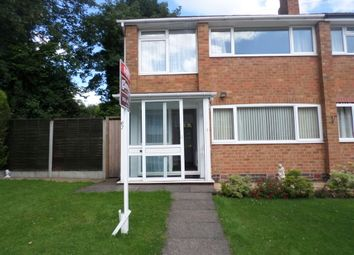 Thumbnail 3 bed end terrace house to rent in Westhouse Grove, Kings Heath, Birmingham