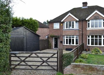 Thumbnail 3 bed semi-detached house for sale in Southdown Road, Benham Hill, Thatcham, Berkshire