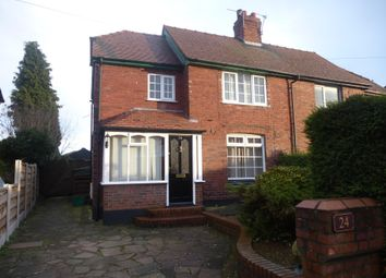 Thumbnail 2 bed property to rent in Forster Avenue, Weaverham, Northwich
