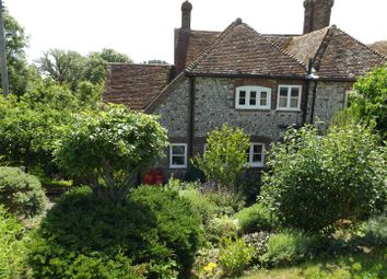 Thumbnail 3 bed semi-detached house for sale in The Street, Selmeston, Polegate