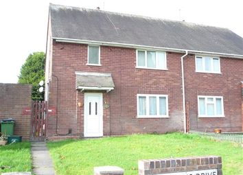 Thumbnail 1 bed flat for sale in Griffiths Drive, Ashmore Park, Wednesfield