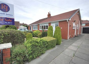Thumbnail 2 bedroom semi-detached bungalow for sale in Everard Close, Walkden, Manchester