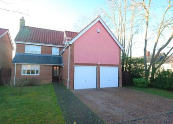 Thumbnail 4 bed detached house for sale in Old Orchard, Mendlesham, Stowmarket