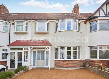 Thumbnail 4 bed terraced house to rent in Grasmere Avenue, London