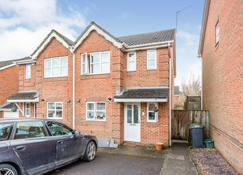 Thumbnail 3 bed semi-detached house for sale in Barbel Avenue, Basingstoke, Hampshire
